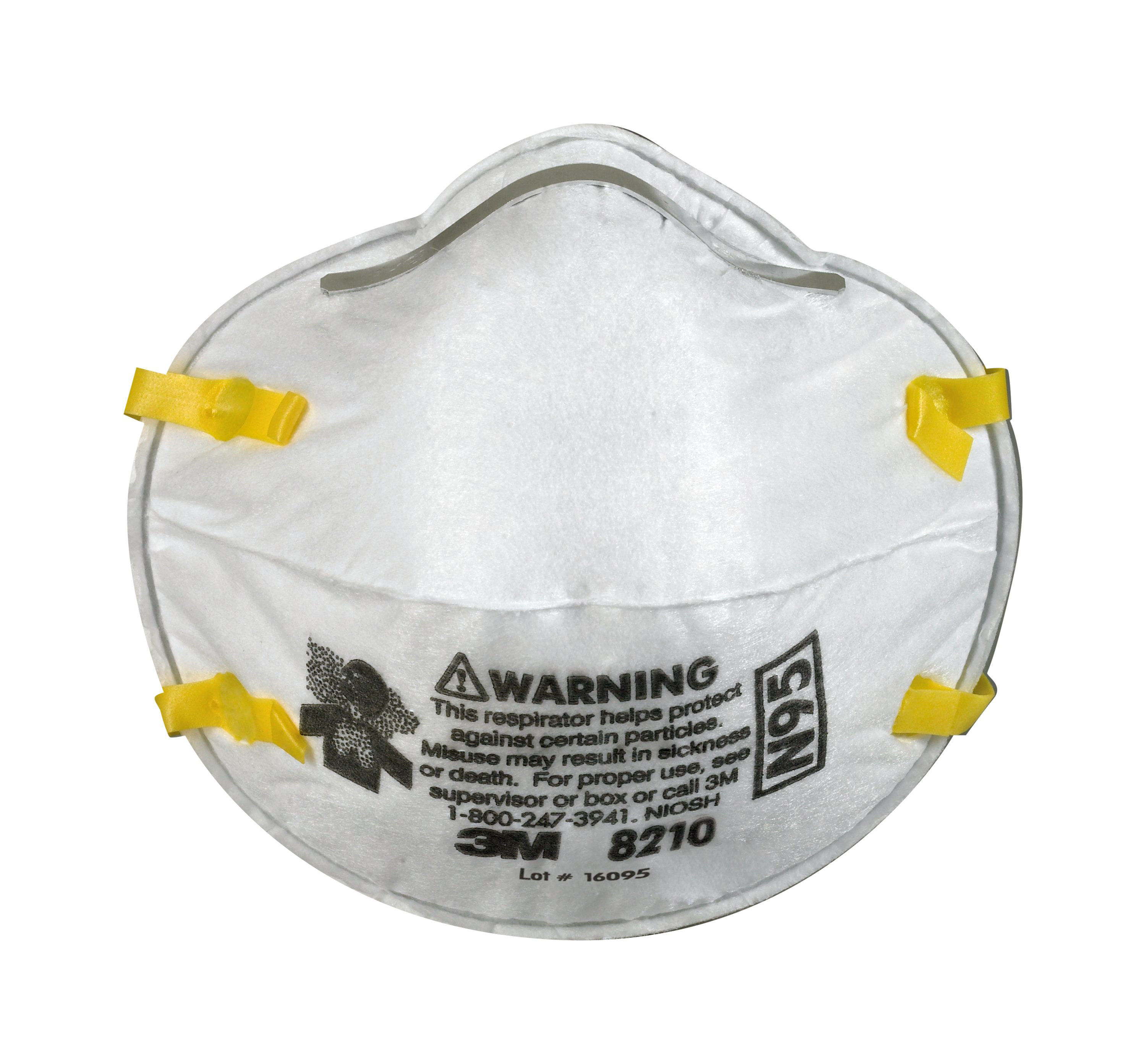 3m Safety - N95 20 Respirator Acure 8210 X