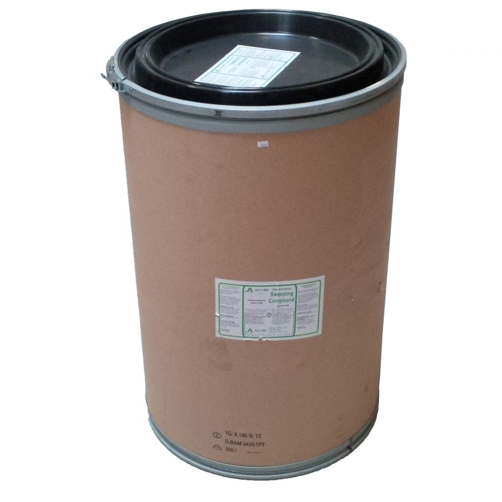 A148 Sweeping Compound 135kg Drum Acure Safety